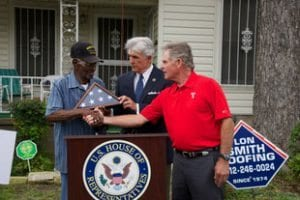 , Roof for Vets, Lon Smith Roofing & Construction, Lon Smith Roofing & Construction
