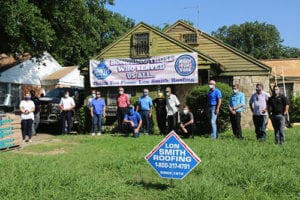 , LON SMITH ROOFING HONORS LOCAL VETERAN FIGHTING CANCER, Lon Smith Roofing & Construction, Lon Smith Roofing & Construction