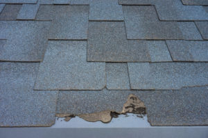 roof shingles decay curling roofing repair